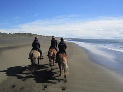 Strandritt in Süd-Island
