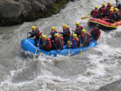 Rafting in Nordisland
