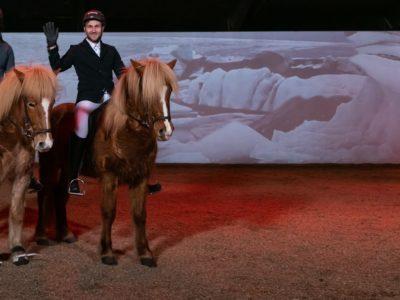 Fákasel Islandpferdeshow