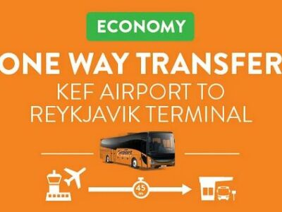 Airport Direkt Flughafenbus Keflavík - Reykjavík