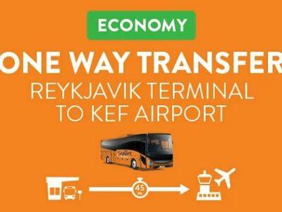 Airport Direct Flughafenbus von reykjavík zum Flughafen Keflavík