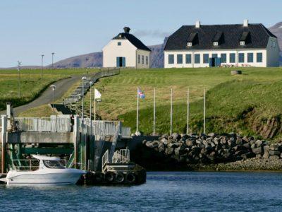 Fähre nach Viðey