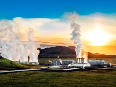 Geothermisches Kraftwerk hellisheiðarvirkjun